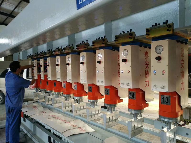 全自动土工格室焊接机